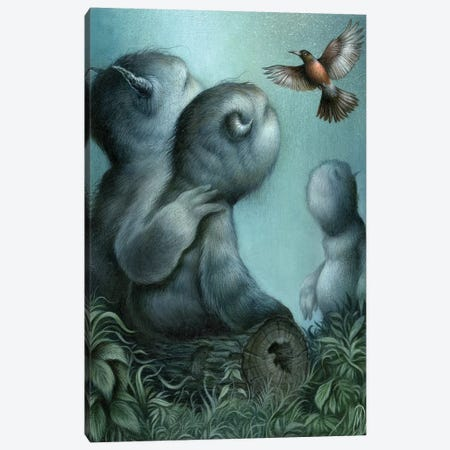 When We Gather Canvas Print #MAY146} by Dan May Canvas Art