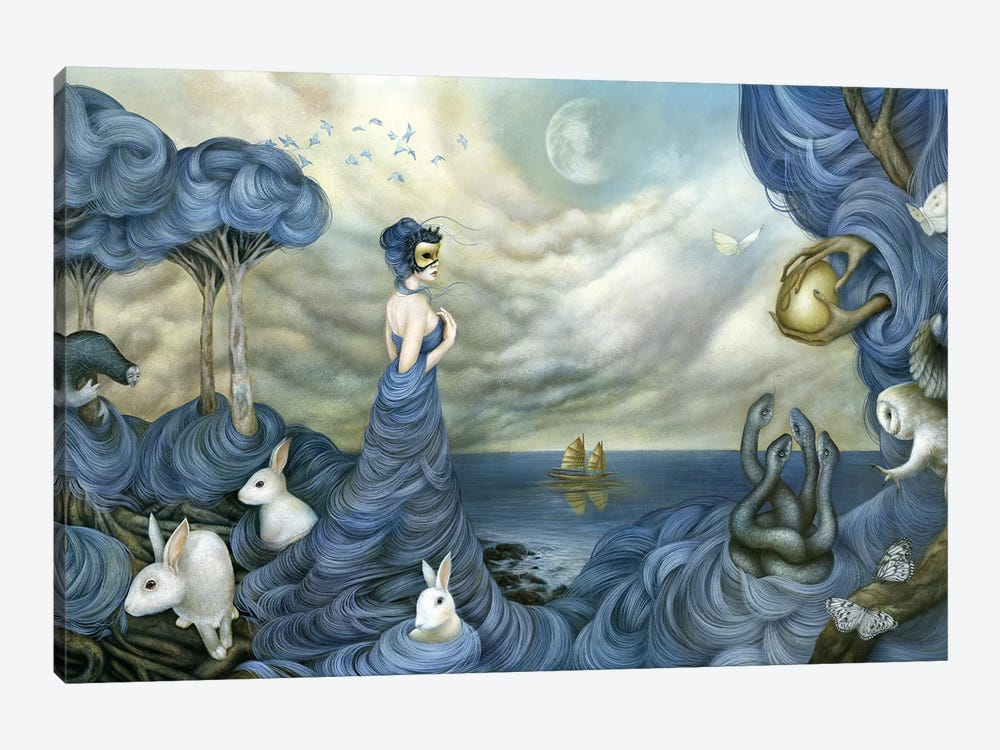 Where Time Beckons The Wicked by Dan May 1-piece Canvas Art Print