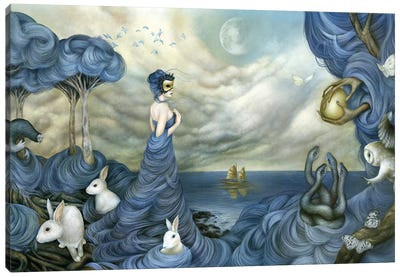 Where Time Beckons The Wicked Canvas Art Print