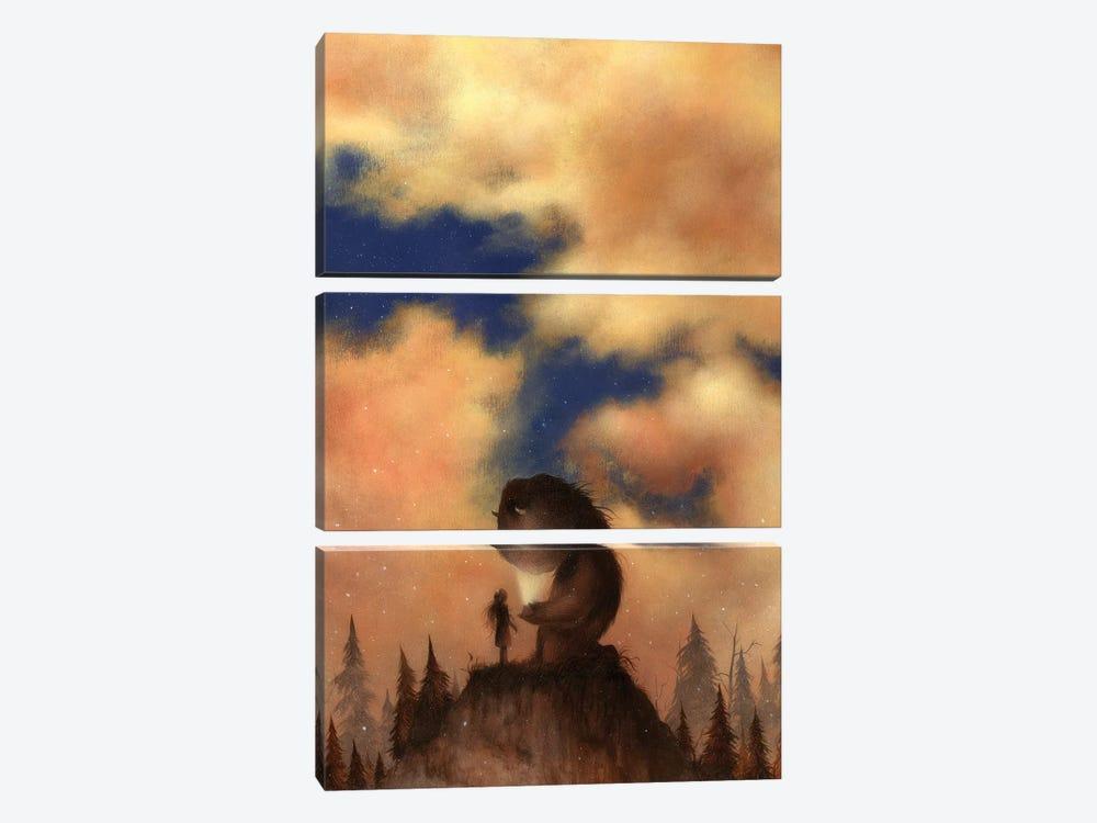 Wonderland by Dan May 3-piece Art Print