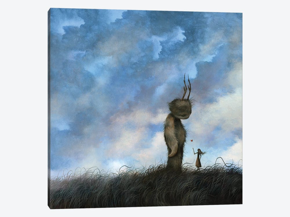 Without a Word   by Dan May 1-piece Canvas Art Print