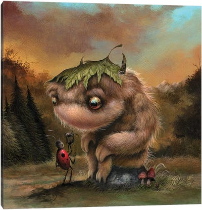 Buggin' Canvas Art Print