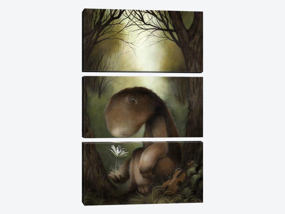 Caesura by Dan May 3-piece Canvas Art Print
