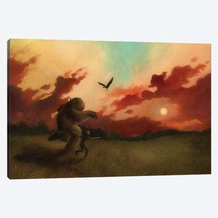 Come Fly With Me Canvas Print #MAY25} by Dan May Canvas Print