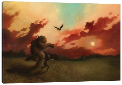 Come Fly With Me Canvas Art Print