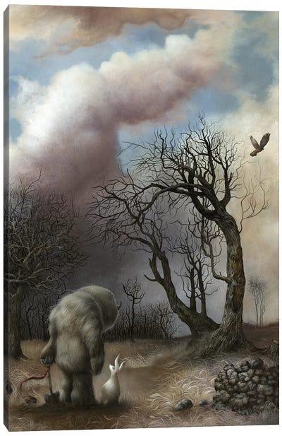 Fallen Kingdom Canvas Art Print