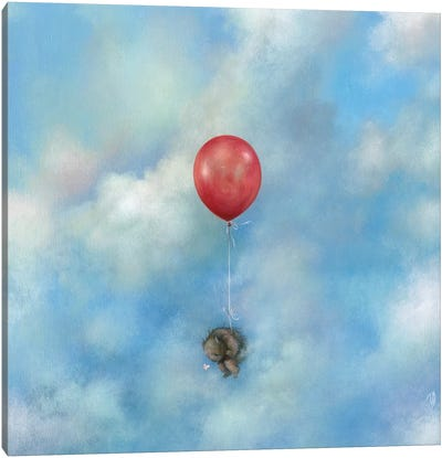 Float Away Canvas Art Print