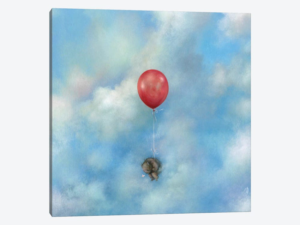 Float Away by Dan May 1-piece Canvas Artwork