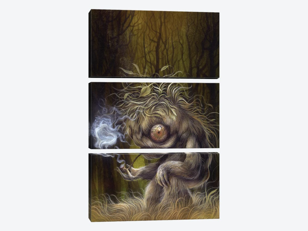 Forest Dweller by Dan May 3-piece Art Print