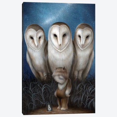 Guardians Of The Infinite Night Canvas Print #MAY53} by Dan May Canvas Print