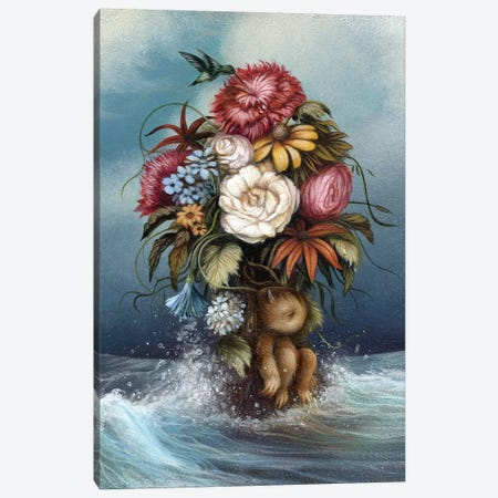 Hopeless Romantic Canvas Print #MAY56} by Dan May Canvas Wall Art