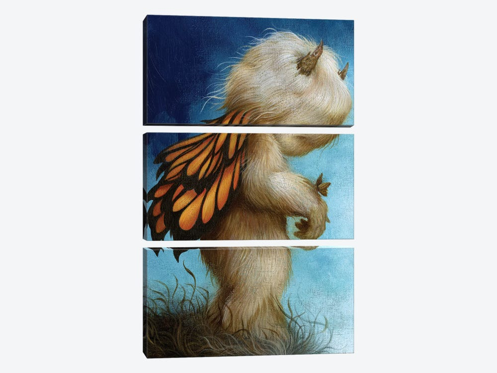 Into The Great Wide Open by Dan May 3-piece Canvas Art