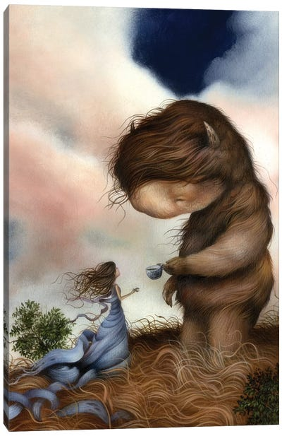 Kindred Spirits Canvas Art Print