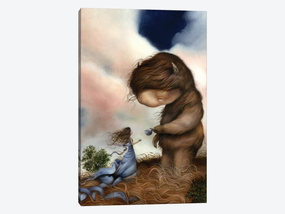 Kindred Spirits by Dan May 1-piece Canvas Print