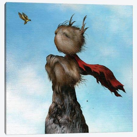 Little Hero Canvas Print #MAY66} by Dan May Canvas Print