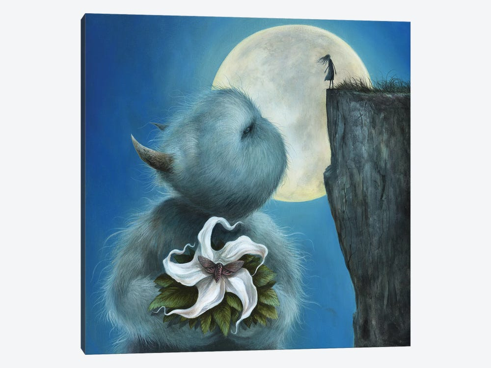 Meet Me Under The Moon by Dan May 1-piece Canvas Print