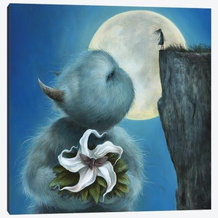 Meet Me Under The Moon Canvas Print #MAY70} by Dan May Art Print