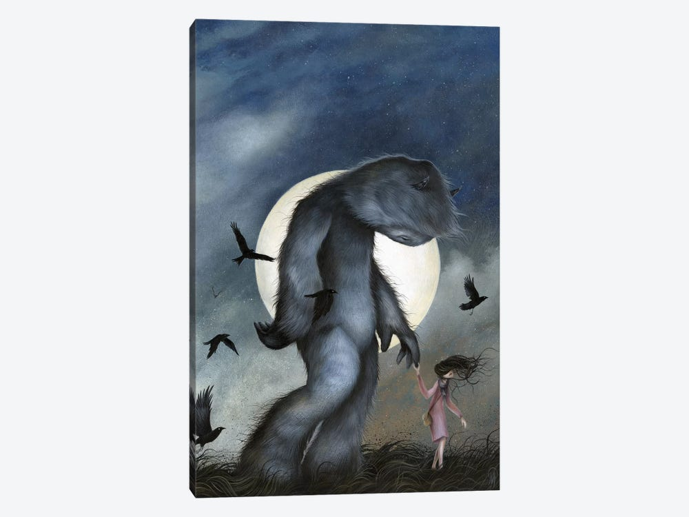 Moon Walk by Dan May 1-piece Canvas Art