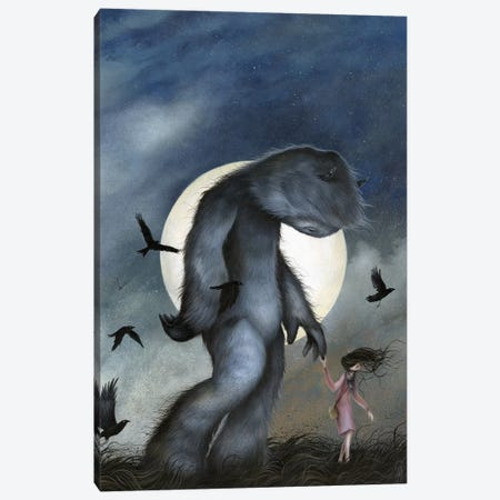 Moon Walk Canvas Print #MAY71} by Dan May Canvas Art Print