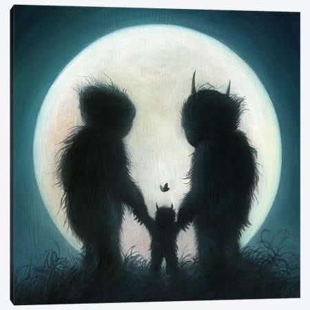 Moonlight Stroll Canvas Print #MAY72} by Dan May Canvas Art Print
