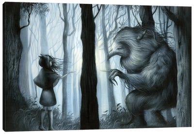 Mystical Meeting Canvas Art Print