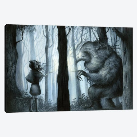 Mystical Meeting Canvas Print #MAY73} by Dan May Canvas Art Print