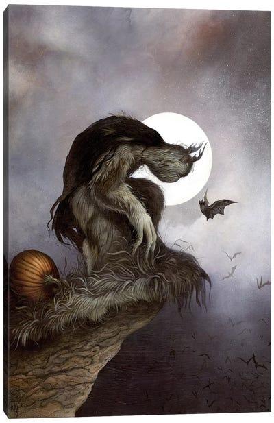 Night Fall Canvas Art Print