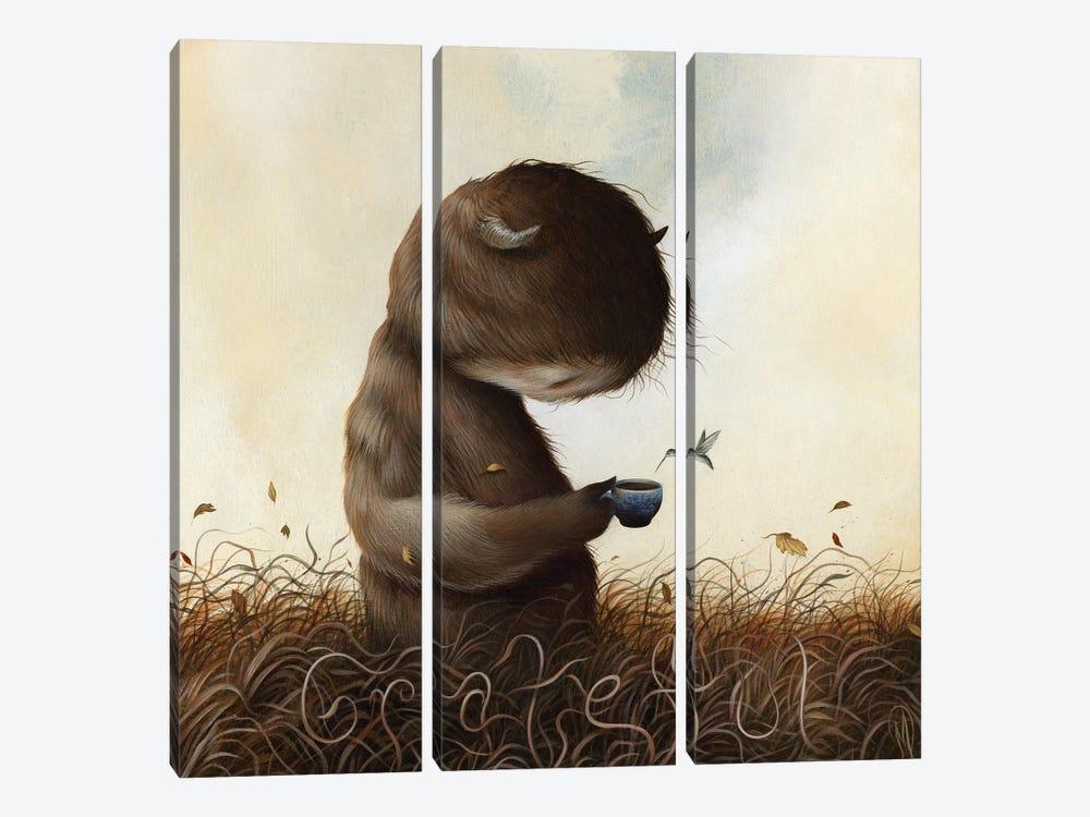 October Morning by Dan May 3-piece Canvas Art Print