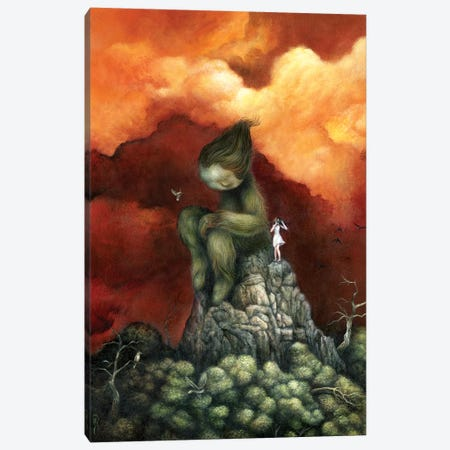 Peak Canvas Print #MAY83} by Dan May Canvas Wall Art