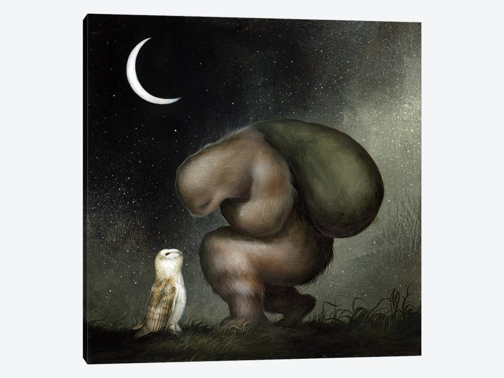 Plight of the Wanderer by Dan May 1-piece Canvas Art