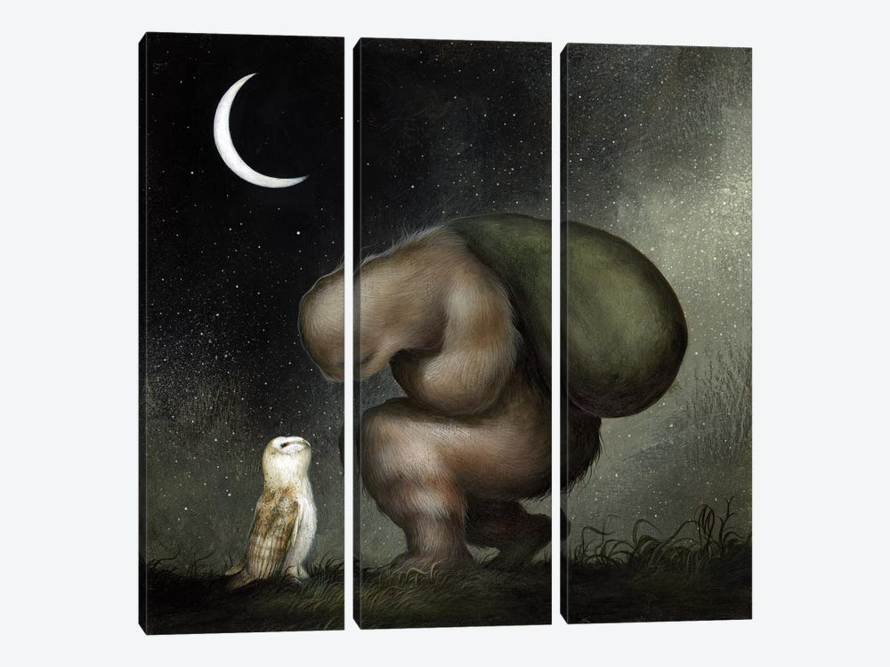Plight of the Wanderer by Dan May 3-piece Canvas Wall Art