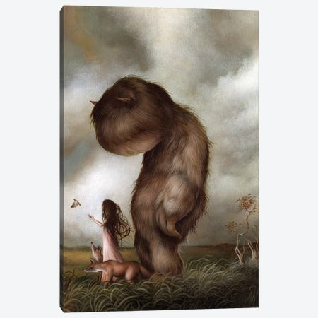 Release Painting Canvas Print #MAY94} by Dan May Canvas Art