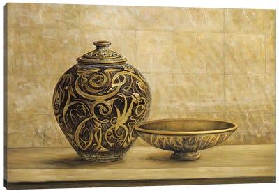 Collezione etnica II Canvas Art Print