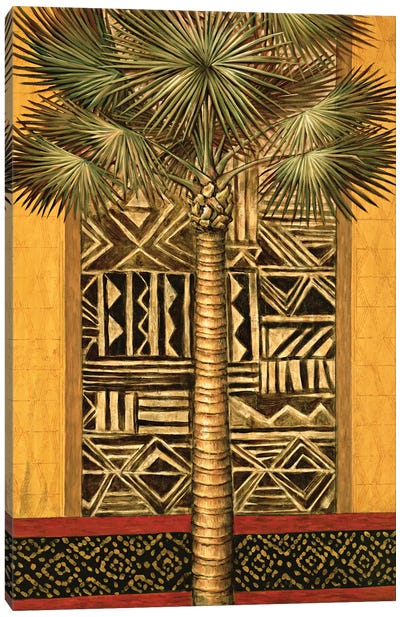 African Evening I Canvas Art Print