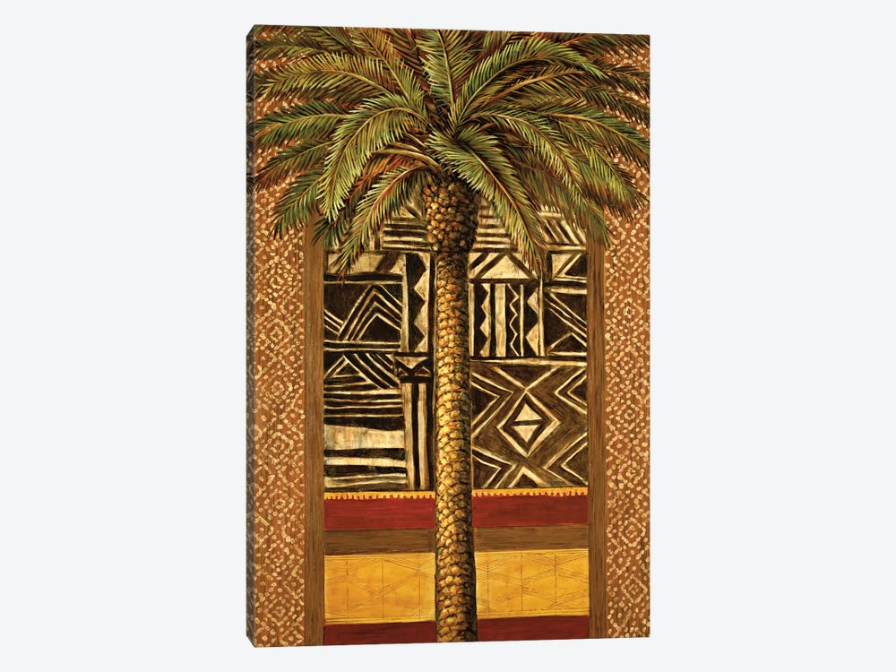 African Evening II by André Mazo 1-piece Canvas Art Print