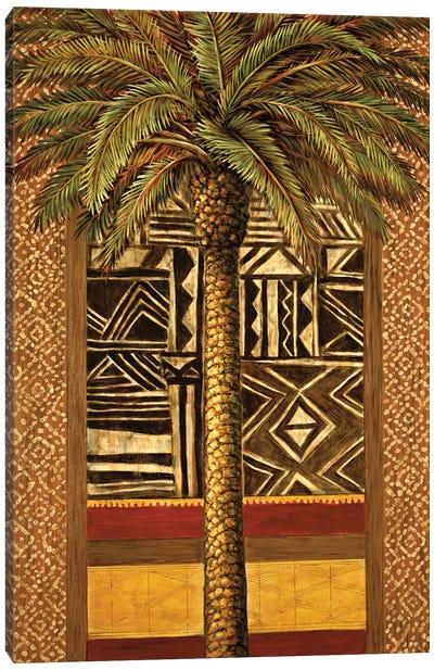 African Evening II Canvas Art Print