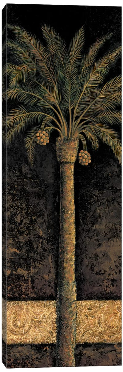Dusk Palms I Canvas Print #MAZ4