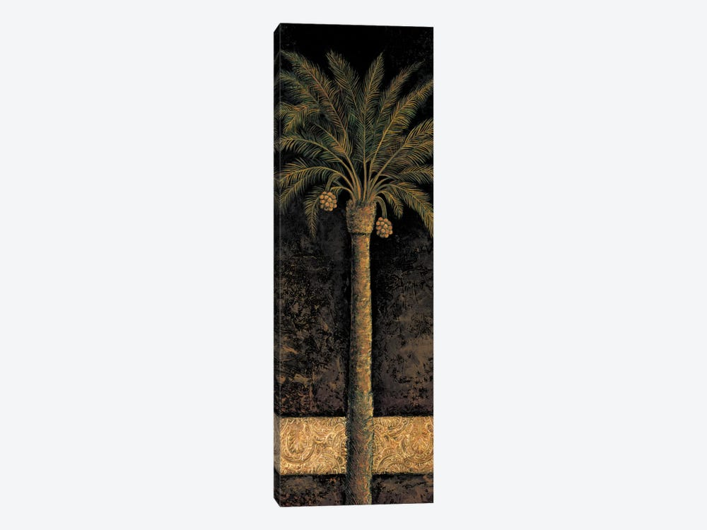 Dusk Palms I by André Mazo 1-piece Canvas Print