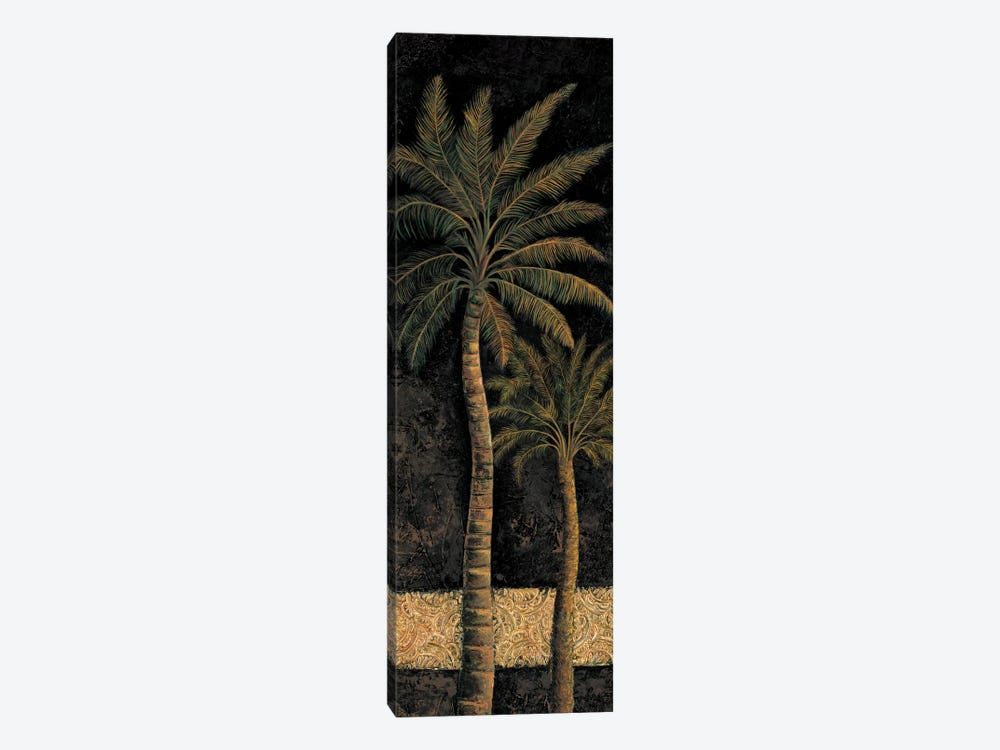 Dusk Palms II 1-piece Canvas Wall Art