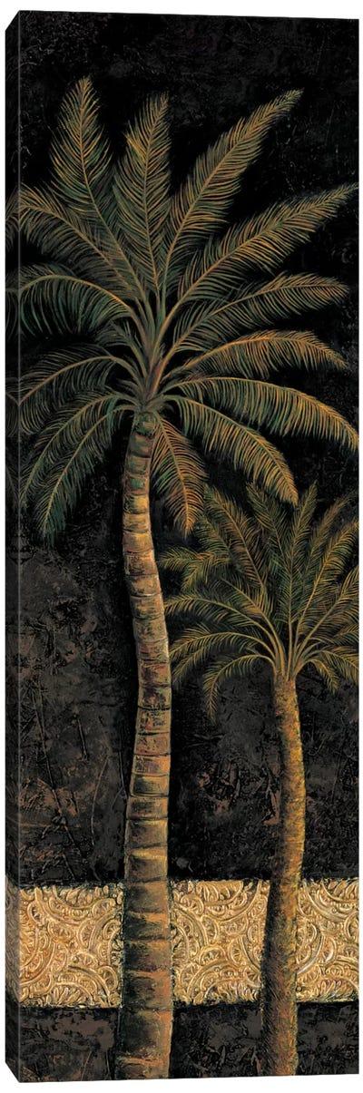 Dusk Palms II Canvas Art Print