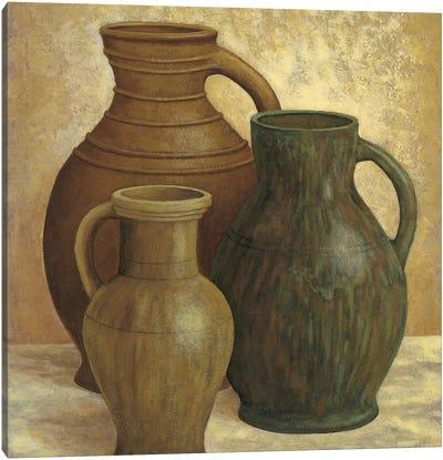 Vasi di terracotta Canvas Art Print