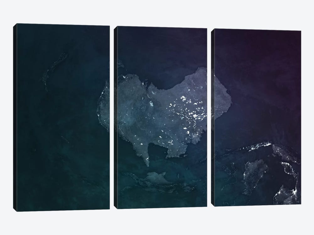 Australia by Marco Bagni 3-piece Canvas Wall Art