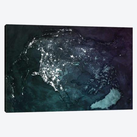 North America Canvas Print #MBA19} by Marco Bagni Art Print