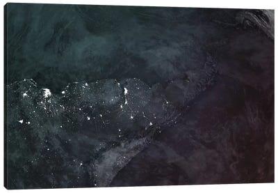 South America Canvas Art Print
