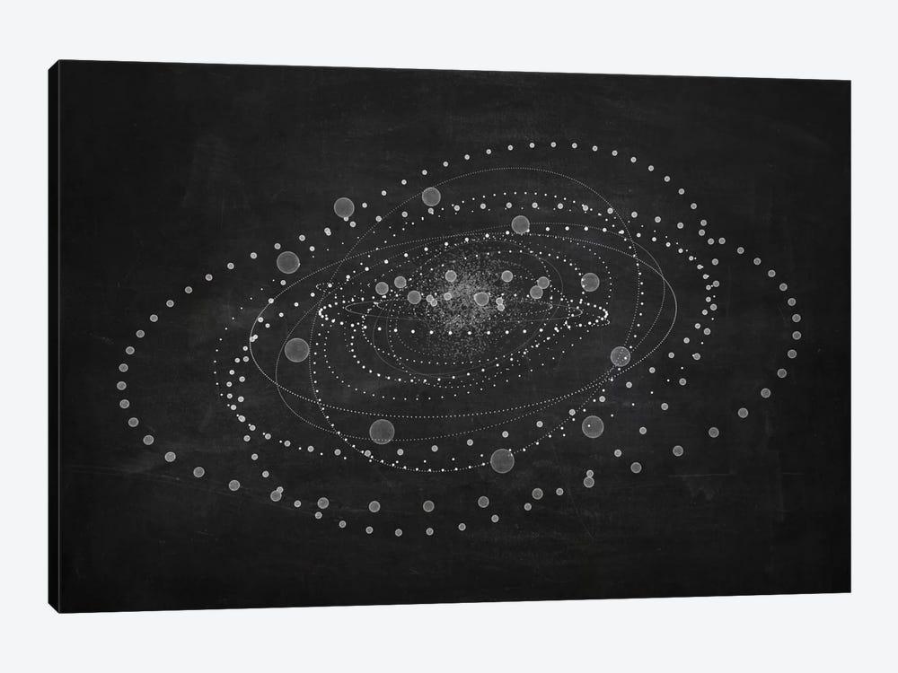 Core I (Dark) by Marco Bagni 1-piece Canvas Artwork