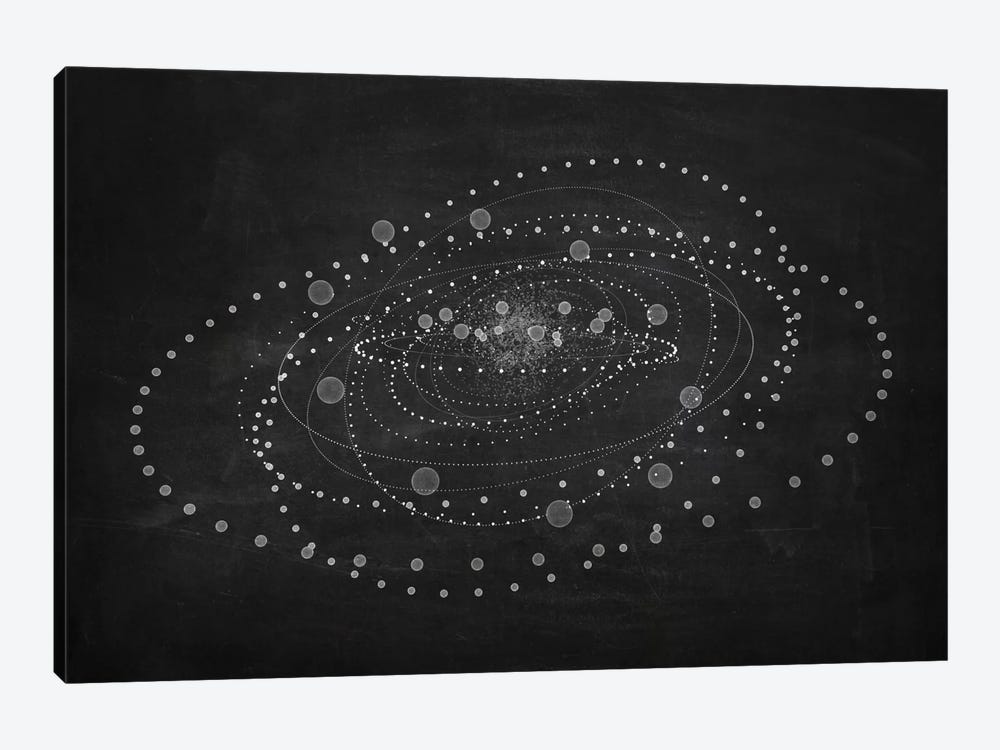 The Chasing Space Series: Core I (Dark) by Marco Bagni 1-piece Canvas Artwork
