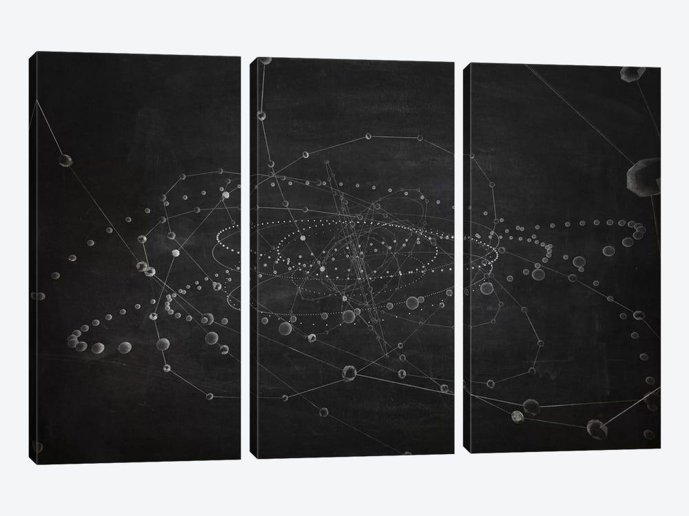 Core II (Dark) by Marco Bagni 3-piece Canvas Art