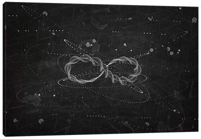Loop III (Dark) Canvas Art Print