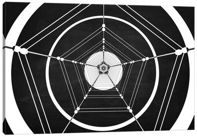 Penta (Dark) Canvas Art Print