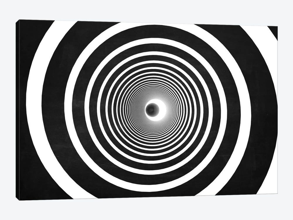 The Chasing Space Series: Spiral (Dark) by Marco Bagni 1-piece Art Print
